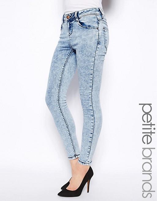 New Look Petite Acid Wash Jeans   AS