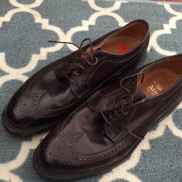 Alden Shoes | A Pair Of Shell Cordovan Mens | Poshma