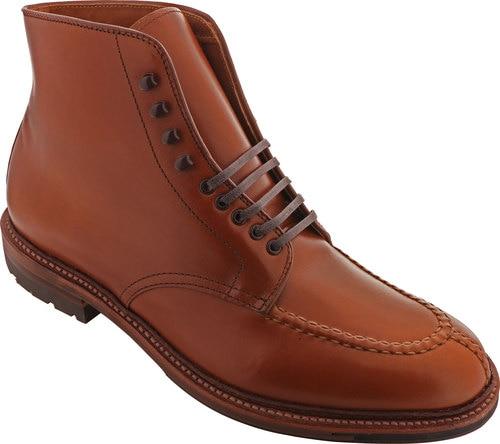 Alden Shoes Men's 40208HC Handsewn NST Boot 40208HC Burnished Dark .