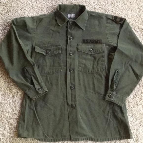 Vintage Jackets & Coats | Us Army Jacket Authentic Ft Bragg | Poshma