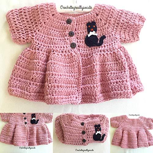 Amazon.com: Winter baby sweater, Handmade baby top, winter sweater .