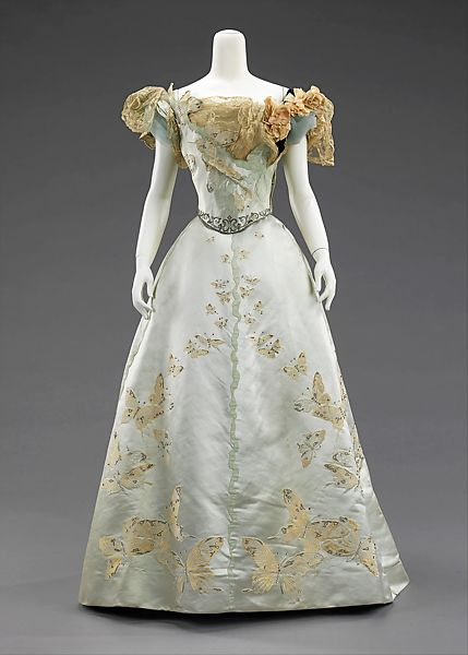House of Worth   Ball gown   French   The M