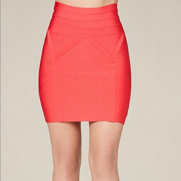 bebe Skirts | High Waist Bandage Skirt | Poshma