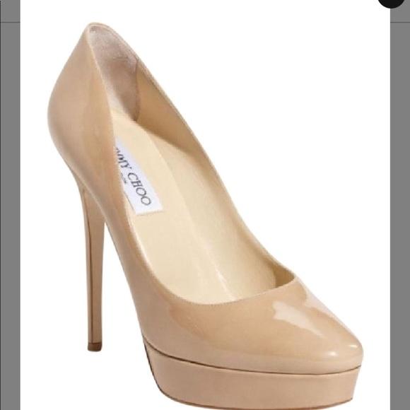 Jimmy Choo Shoes | Jimm Choo Beige Pumps Size 38 12 | Poshma