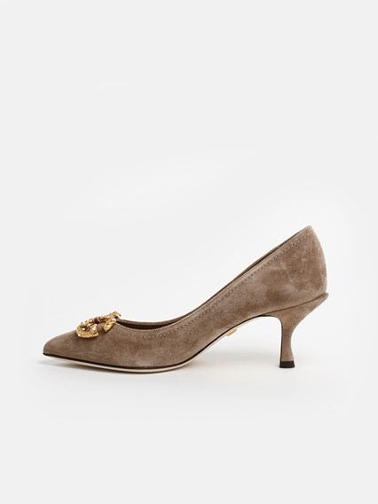 dolce & gabbana BEIGE PUMPS available on www.lungolivignofashion .
