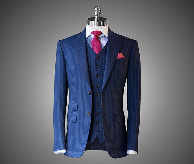 Looking Like A Lawyer: Buying A Bespoke Suit   Above the L