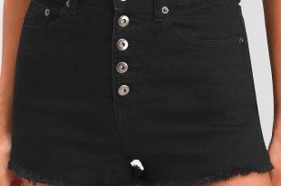 Jack by BB Dakota Down to Business - Black Denim Shorts - Shor
