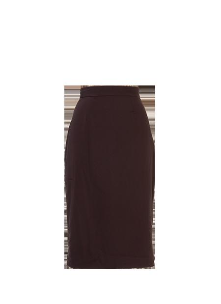 Pencil Skirt Black - Retrospec'd Clothi