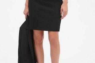 Washable Classic Black Pencil Skirt | Banana Republic Facto