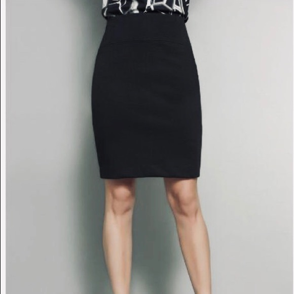 Worthington Skirts   Black Pencil Skirt 8   Poshma