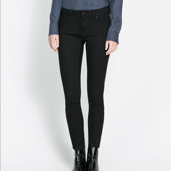 Zara Jeans   Black Skinny Pants   Poshma