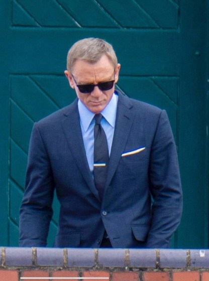 no time to die james bond navy blue suit - Outfit
