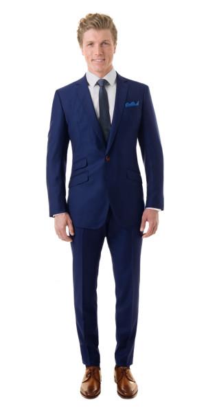 Royal Blue Suit - Mens Suits | Black Lap