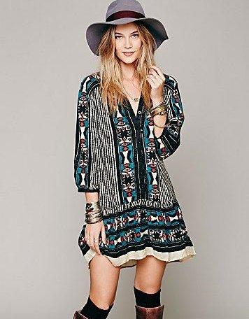 Cute Summer Boho Dresses 2014 - Top