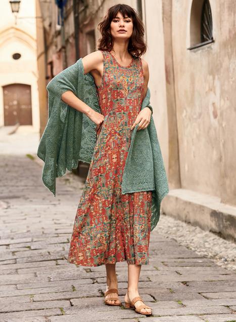 Shiraz Dress, Designer Travel Dresses, Boho Dresses, Luxury .