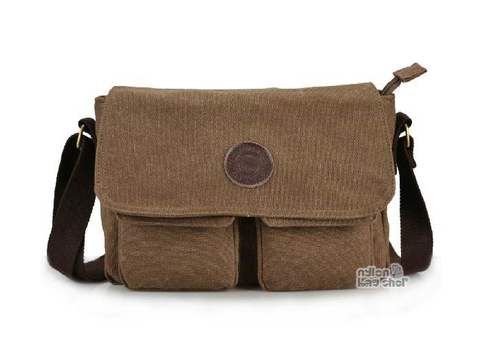 Messenger bags college coffee, black messenger book bag - nylon .