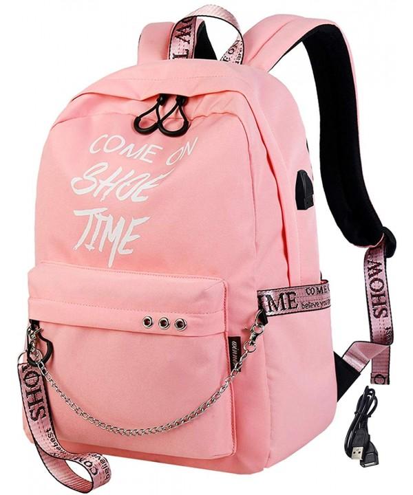El fmly Luminous Backpack Backpacks Bookbags - Pink-FSC1 - CK18D86UL