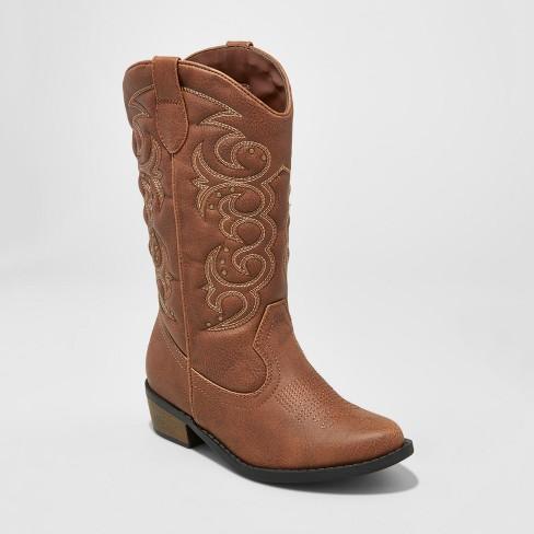 Girls' Meadow Western Boot Cat & Jack™ Brown : Targ