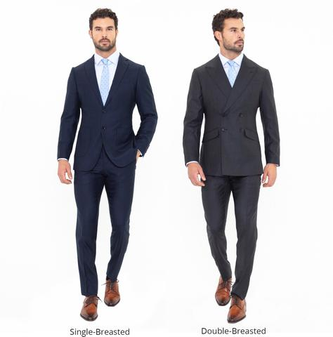 Single vs. Double-Breasted Suit Jackets – Enzo Cust