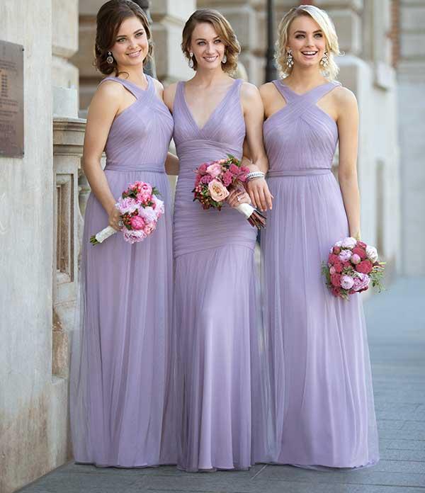 Long Bridesmaid Dresses   Sorella Vita Bridesmaid Gow