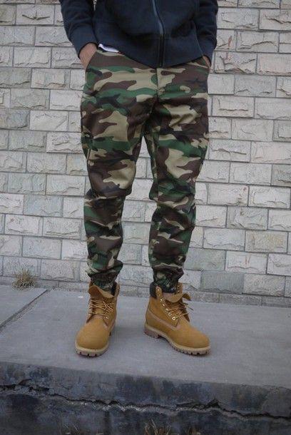 JOGGER Men Elastic Waist Drop Crotch Twill Harem Trousers .