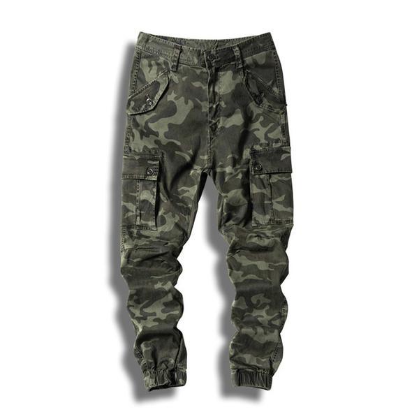 2017 AKing ACE Mens Camo Cargo Pants Military Camouflage Pants Men M