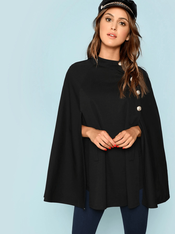 Buttoned Front Cape Coat for Sale Australia| New Collection Online .