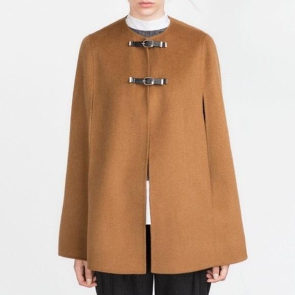 Zara Jackets & Coats | Cape Coat | Poshma