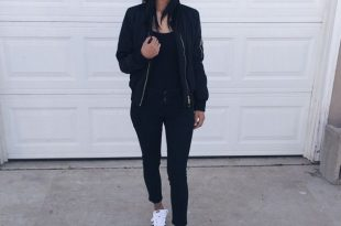 Casual all black outfit with baseball cap | Outfits with hats .