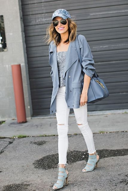 20 Spring Outfits With Denim Baseball Caps - Styleohol