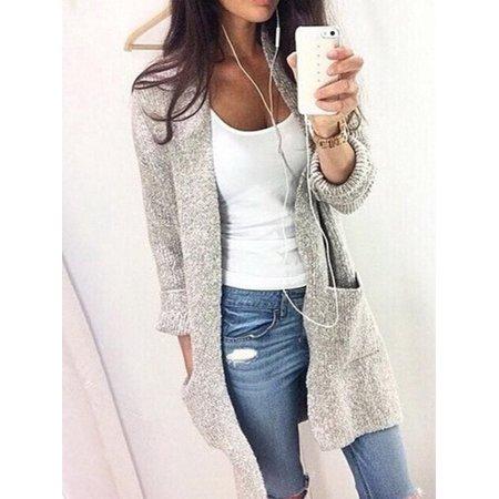 Topcobe - Cardigan Sweaters for Women, Women's Long Sleeve .