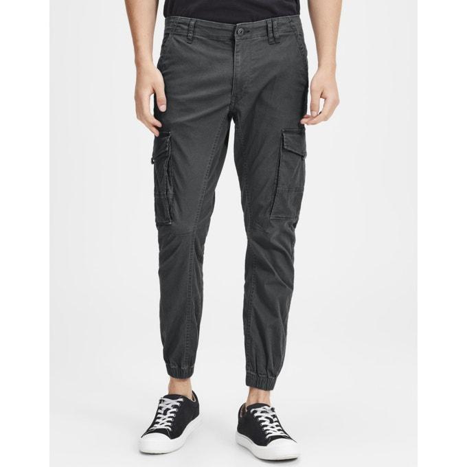 Cargo trousers grey Jack & Jones   La Redou