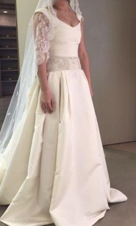 Carolina Herrera Adele Wedding Dress | Used, Size: 6, $1,7