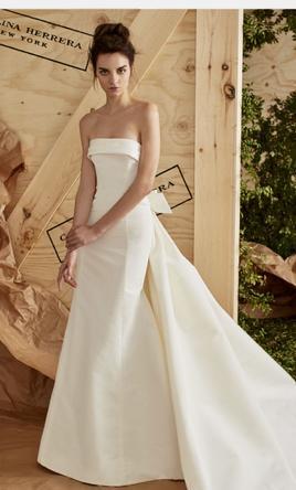 Carolina Herrera Arielle Wedding Dress | New, Size: 12, $5,5