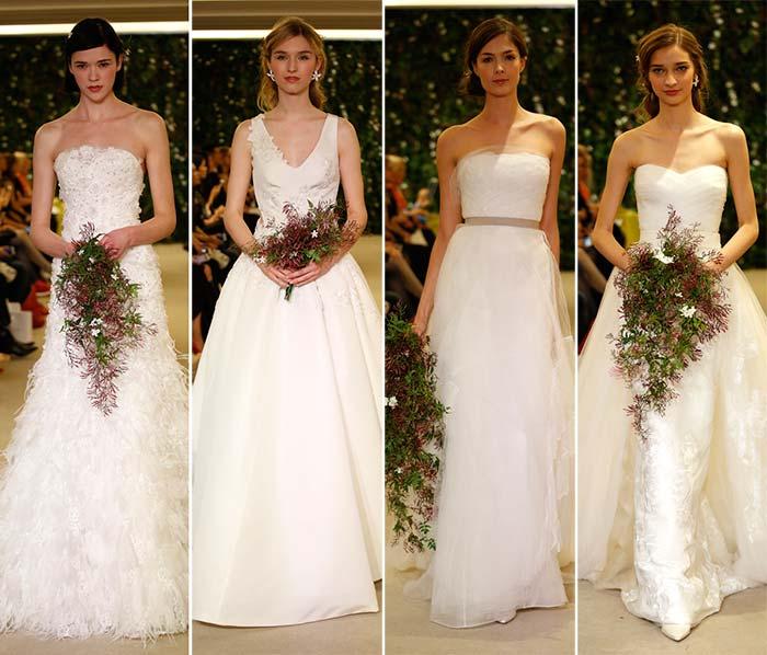 Carolina Herrera Spring 2016 Wedding Dress Collecti