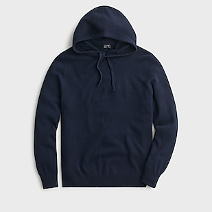 J.Crew: Everyday Cashmere Hoodie For M