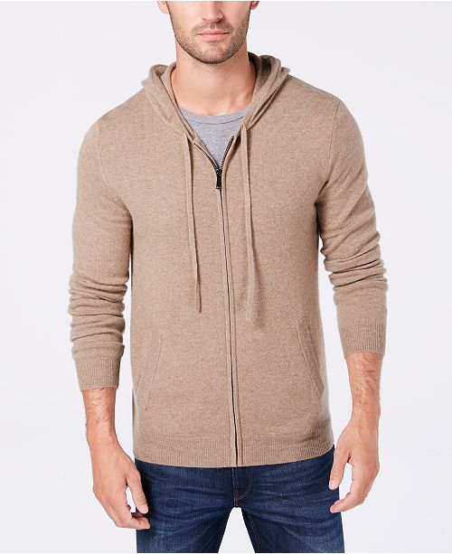 Tasso Elba Men's Cashmere Hoodie, Created for Macy's & Reviews .