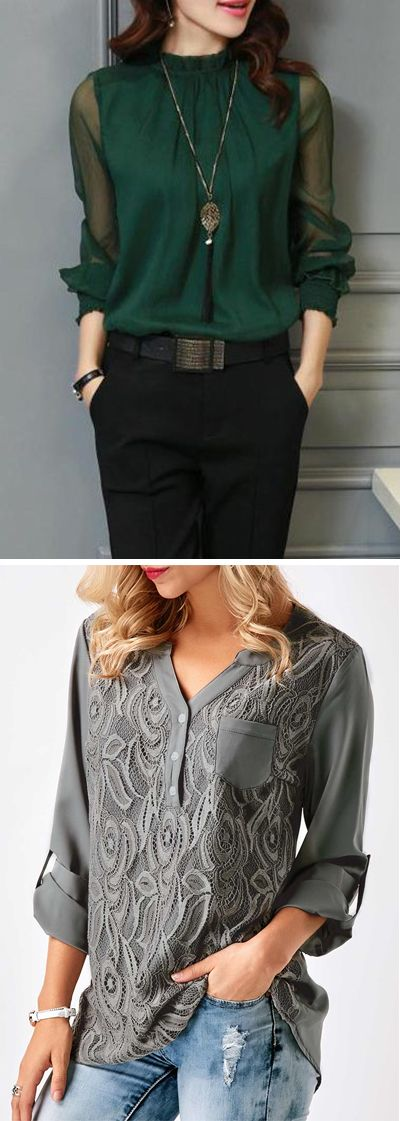 work tops, work blouses for women, casual work blouses, casual .