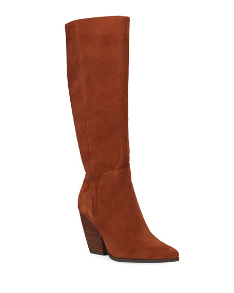 Charles by Charles David Nelson Suede Knee Boo