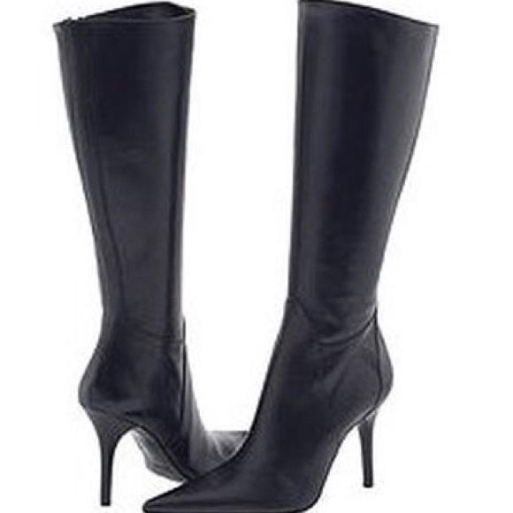 Charles David Shoes   Capture Kneehigh Stiletto Boot   Poshma