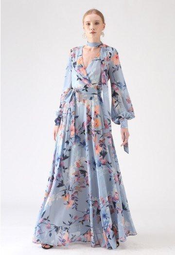 Chiffon Maxi Dress For You