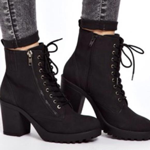 chunky heel boots 05154530 | The Cute Styl