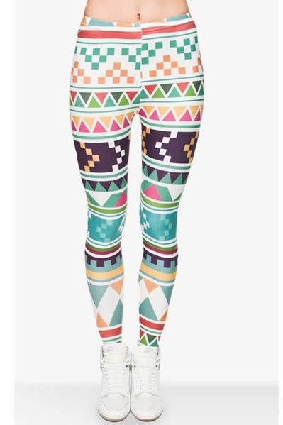 Aztec Marine Colorful Leggings – Brite Leggin
