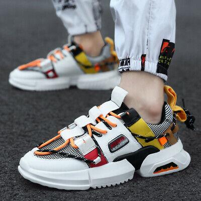 Men's New Fashion Show Retro Sneakers Running Sports Jogging .