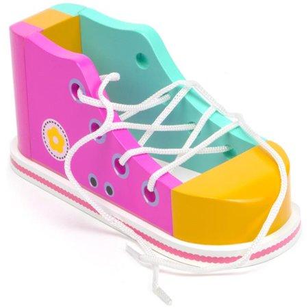 Cool Kicks Pink Lacing Shoe - Walmart.com - Walmart.c