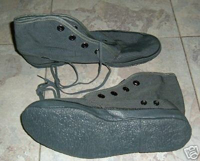 2 PAIR US NAVY SEAL-UDT CORAL BOOTS/ CREEPERS size 9 .