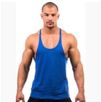 Mens Tank Top Cotton Gym Vest,Bodybuilding Tank Tops - Buy .