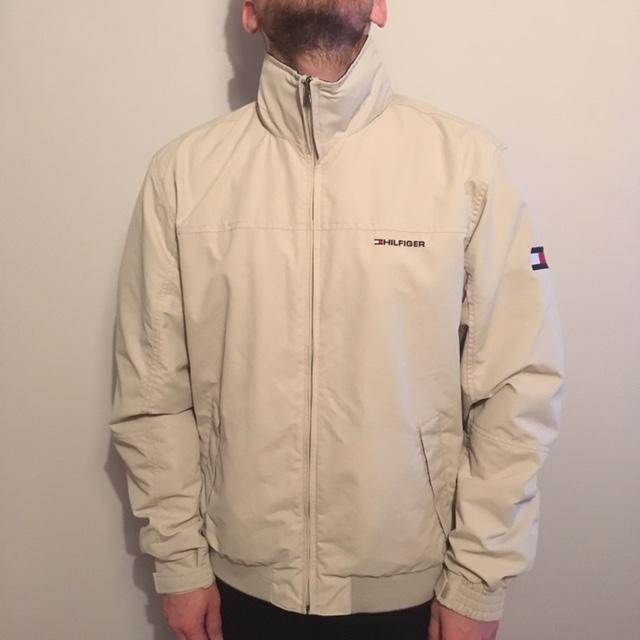 Unreal coat this! A Tommy Hilfiger cream jacket!... - Dep