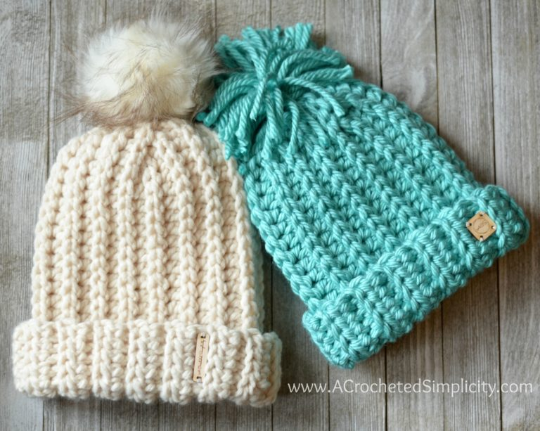 Top 22 Free Crochet Hat Patterns - Maria's Blue Cray