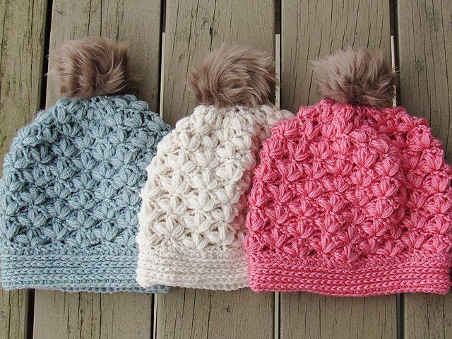 10 Crochet Winter Hat Patter